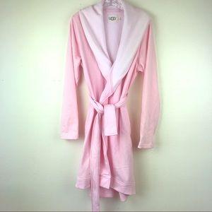NEW UGG Women's Blanche  Pink Robe XL